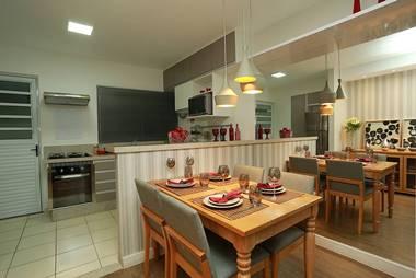 Foto cozinha americana Parque das Cerejeiras