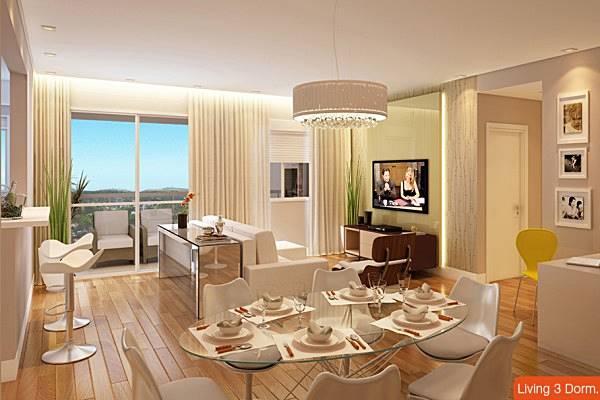 Foto Ilustrativa Sala de Living 3D