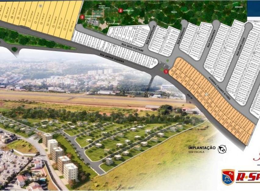 Terrenos de 300m em loteamento a 500m da entrada Bragança Paulista