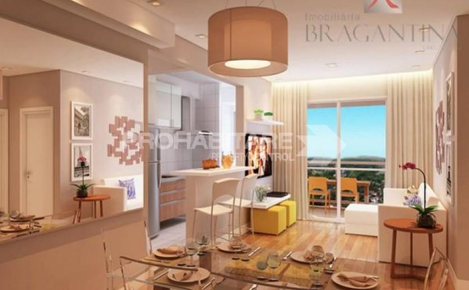 Vende-se Apto, Bragança Paulista, Residencial Soleil Resort, Zona sul